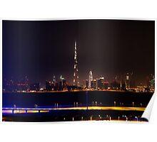 Dubai Cityscape Poster
