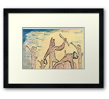civilization as we know it Framed Print