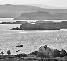 Loch Dunvegan from Colbost, Isle of Skye by Simon Lupton