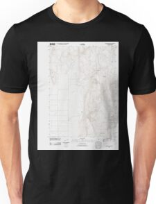 USGS Topo Map Oregon Mahon Creek 20110831 TM Unisex T-Shirt