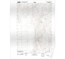USGS Topo Map Oregon Mahon Creek 20110831 TM Poster