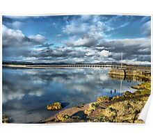Kent Viaduct and Arnside Pier Poster
