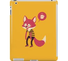 Good Morning Fox iPad Case/Skin
