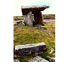Poulnabrone portal tomb Photographic Print