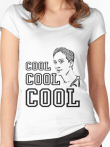Community - Abed (Cool Cool Cool) Women's Fitted Scoop T-Shirt