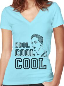 Community - Abed (Cool Cool Cool) Women's Fitted V-Neck T-Shirt