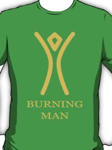Burning Man - Simple sun T-Shirt