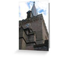 St John's Kirk Perth Greeting Card