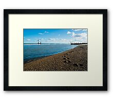 Southwold Beach Framed Print
