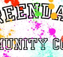 Greendale Community College Paintball Sticker
