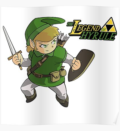 The Legend of Hyrule Poster