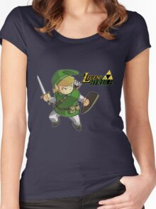 The Legend of Hyrule Women's Fitted Scoop T-Shirt