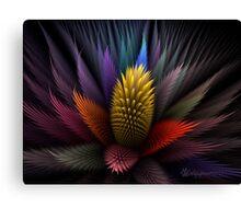 Spiky Botanical Canvas Print