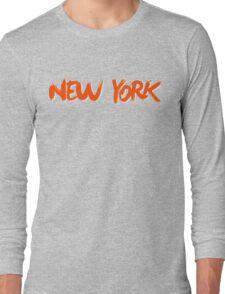 New York: Royal Long Sleeve T-Shirt