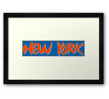 New York: Royal Framed Print