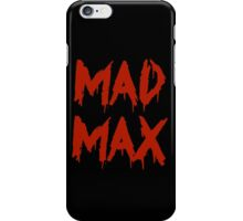 The future is mad. iPhone Case/Skin