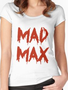 The future is mad. Women's Fitted Scoop T-Shirt