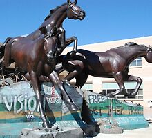 Wild Horse -- George W. Bush Senior Library Texas Station by zwrr16
