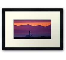 Tranquil Turnberry Lighthouse Framed Print