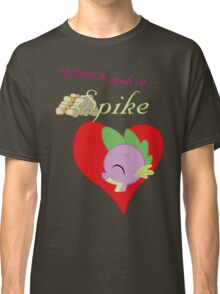 I have a crush on... Spike - with text Classic T-Shirt
