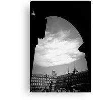Plaza Mayor en Verano Canvas Print