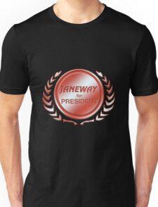 Janeway for President Unisex T-Shirt