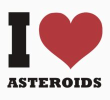 I love Asteroids One Piece - Short Sleeve