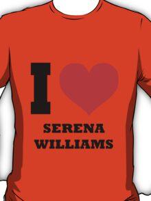 I love Serena Williams T-Shirt