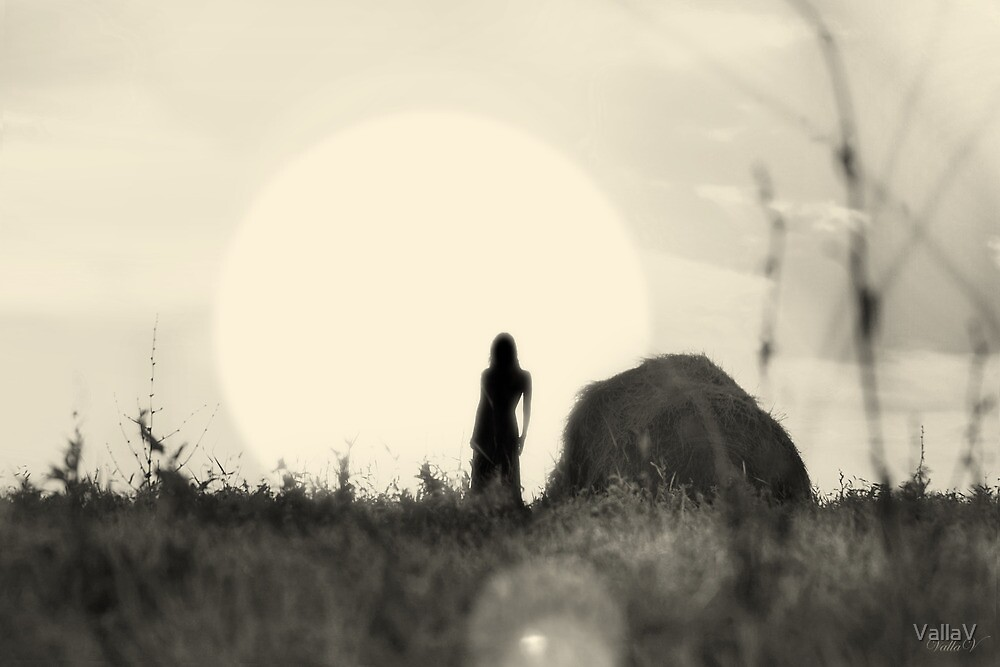 Girl in the Sunshine by VallaV