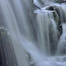 Waterfall Detail by Stephen Vecchiotti