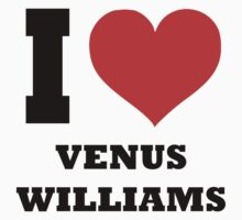 I love Venus Williams One Piece - Short Sleeve