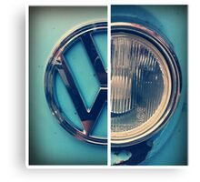 VW Camper Van 2 Canvas Print