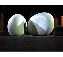 Kan Yasuda's Touchstones sculpture Photographic Print