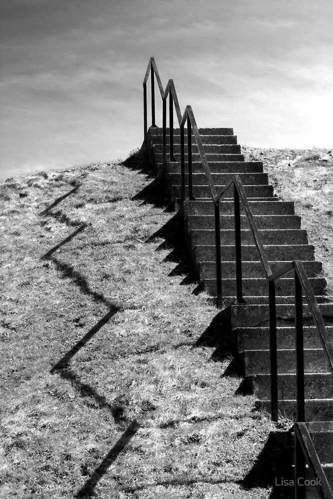 Stairway to the Clouds by Lisa Cook