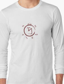 Supernatural Angel Banishing Sigil Long Sleeve T-Shirt
