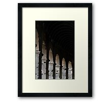 Colosseum Arches  Framed Print