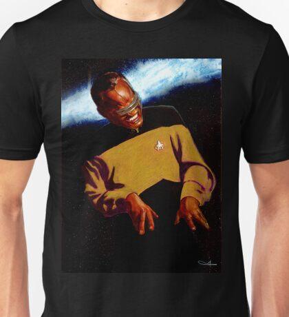 Ray Charles as Geordi La Forge T-Shirt Unisex T-Shirt