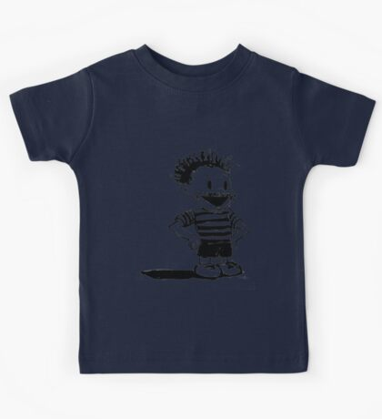 Black Calvin Kids Tee