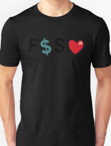 Official Fuck Money Spread Love - J.cole (Black) Unisex T-Shirt
