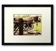Fairbank Well (Petrolia Discovery) Framed Print