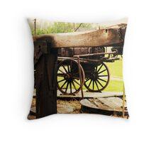 Fairbank Well (Petrolia Discovery) Throw Pillow