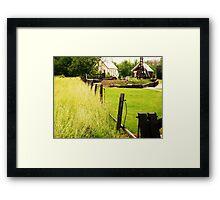 Jerker Line (Petrolia Discovery) Framed Print
