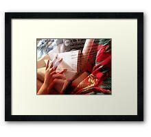 Page Turner Framed Print