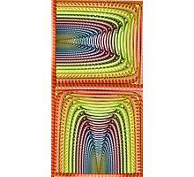 Disc Julian Rainbow Photographic Print