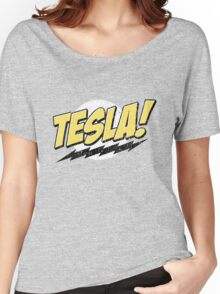 Tesla! (Distressed) Women's Relaxed Fit T-Shirt
