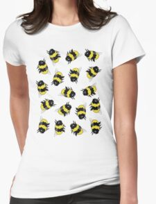Bees! Womens Fitted T-Shirt