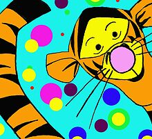 I'm so wonderful because I'm Tigger...and Tigger's are wonderful things!!! © by Dawn M. Becker