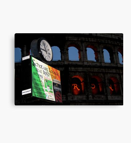 Irish Italy? Canvas Print