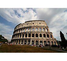 Colosseum in Colour Photographic Print