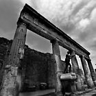 Temple Ruins - Pompeii by Samantha Higgs